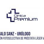 Tratamiento de Laser Verde 180w realizado por el Dr. Gonzalo Sanz